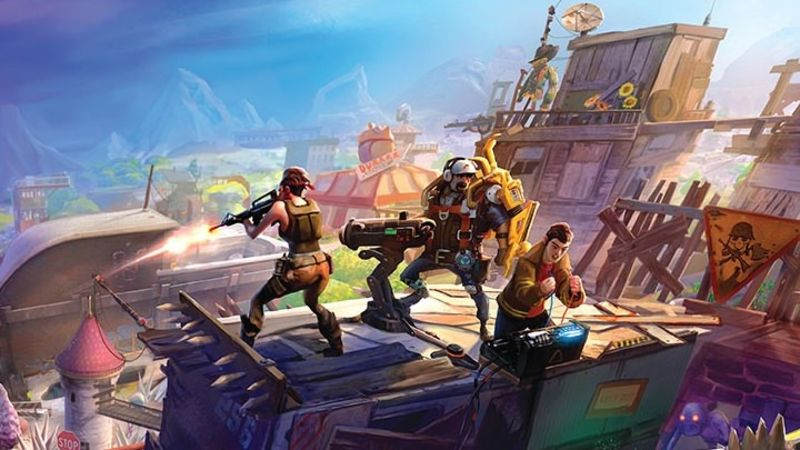 Fortnite Has Nearly The Entire Epic Games Team Working On It The