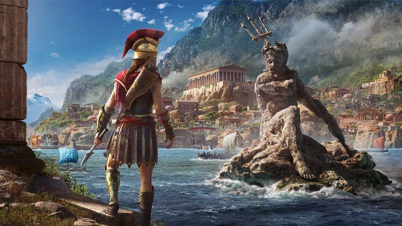 Assassin S Creed Odyssey Trailer Showcases Hunt For Medusa The