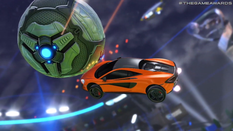 New Rocket League Dlc Has Been Announced At The Game Awards The