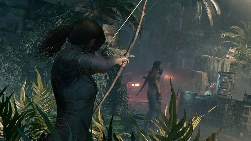 Watch New Shadow Of The Tomb Raider Ps4 Gameplay The Tech Game