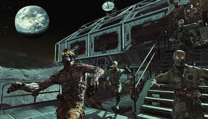 Call of Duty Black Ops - moon zombies Easter eggs, Glitches