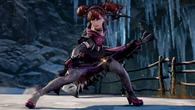 Soulcalibur Vi S Next Dlc Character Amy Gets Flashy New