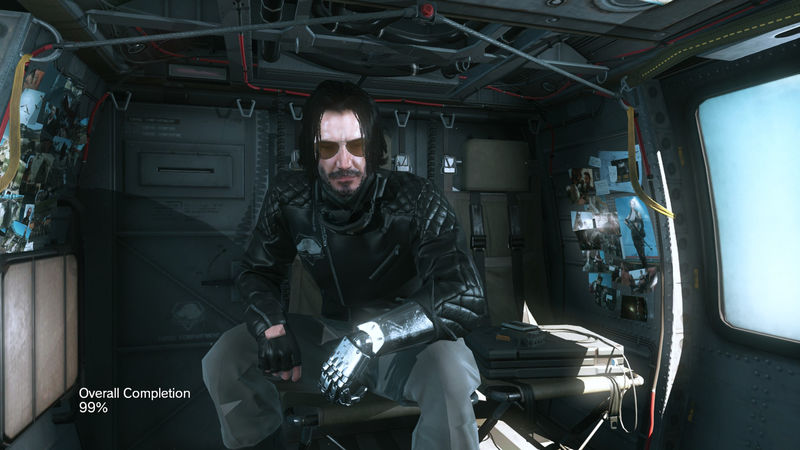 This mod for Metal Gear Solid 5 allows you to play as