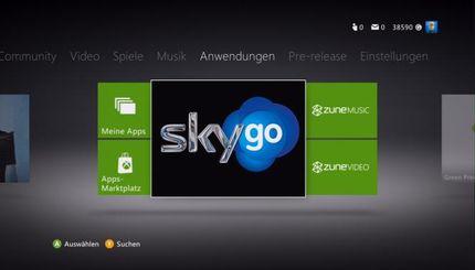 Sky Go Xbox 360