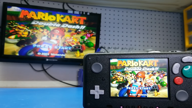 YouTuber Builds an Amazing Portable GameCube/Wii System