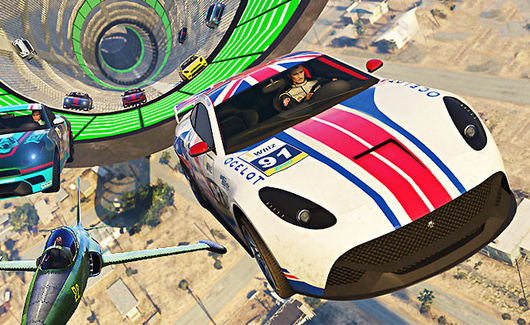 Gta Online Transform Race Creator Goes Live Lazer Jet