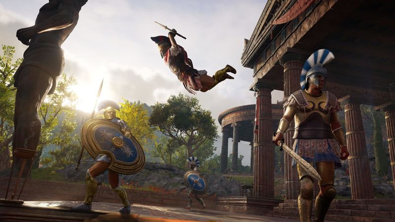 Assassin S Creed Odyssey Trailers Take A Look At The Two Heroes