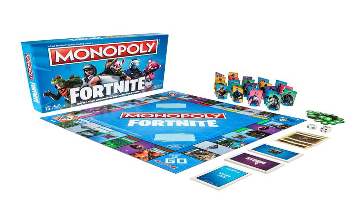 Fortnite Is Getting A Monopoly Board Game And Nerf Blasters By